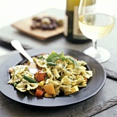 Bow-Tie Pasta (Faralle) with Fresh Vegetables and Herbs