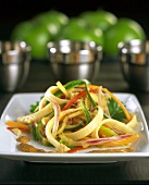 Pad Thai with coconut