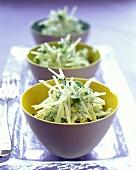 Grated jicama salad
