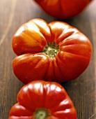Fresh beefsteak tomatoes