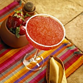 Strawberry Margarita in glass