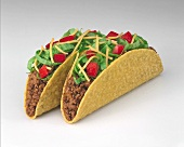 Tacos with mince filling