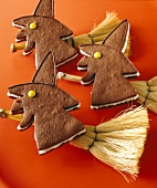 Witch biscuits for Halloween