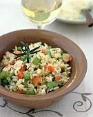 Vegetable and Rice Salad