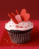 Cup-cake for Valentine's Day