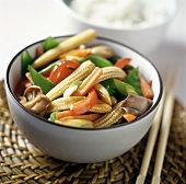 Stir Fried Asian Vegetables