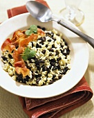 Rice and Black Beans with Bacon