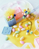 Sweets for a baby's party