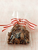 Candied pecans to give as a gift