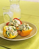 Bell Peppers Stuffed with Tuna Salad