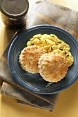 Buttermilk Biscuits with Scrambled Eggs