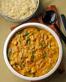 Curried Chicken with Basmati Rice