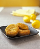 Three Risotto Cakes with Lemons