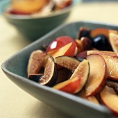 A Fig and Nectarine Fruit Salad