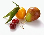 A Pear, Two Cherries and an Orange