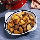 Home Fried Red Skinned Potatoes
