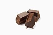Chunks of Bittersweet Chocolate