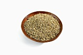 Aniseed in a Brown Bowl