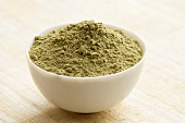 Gymnema (indische Heilpflanze), getrocknet und gemahlen