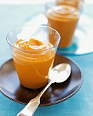 Pumpkin Custard in Glasses