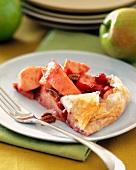 Baked Cranberry-Apple Dessert in Phyllo