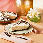 A Slice of Mocha Mousse Pie