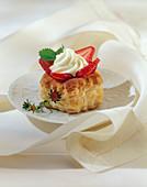 Puff Pastry Strawberry Shortcake