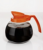 Caffeine-free coffee in glass jug (USA)