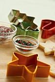 Cookie Cutters and Cookie Sprinkles