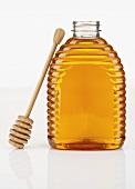 A Jar of Honey with a Server