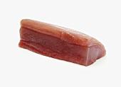 Rohes Thunfischfilet