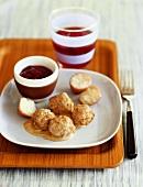 Swedish Meatballs with Lingonberry Sauce