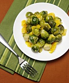 Brussel Sprout and Orange Salad