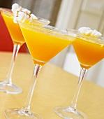 Three Pumpkin Martinis