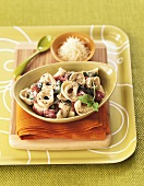 Tortellini with Vegetables and Grated Parmesan