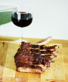 Baby Back Ribs with Red Wine