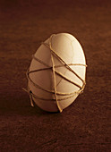 Single Egg Wrapped in Twine