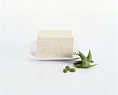 Tofu and fresh soya beans