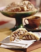 Biscotti (almond biscuits), Tuscany, Italy