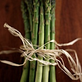 Asparagus Bundled with Twine