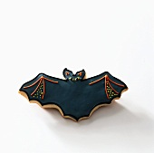 A bat biscuit for Halloween