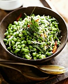 Green bean salad from India
