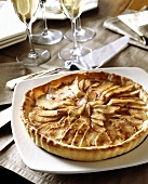 An Apple Tart with Champagne