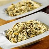 Spaghettini mit Muscheln