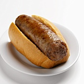 Sausage in bread roll