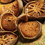 Bael fruit (Bengal quince), dried