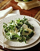 Watercress and pear salad