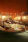 Coconut lime pie