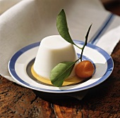 Panna cotta with clementine sauce