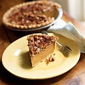 Pumpkin-Pecan-Pie mit Kokos (USA)